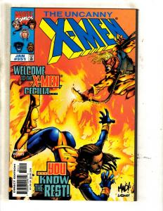 10 Uncanny X-Men Marvel Comic Books #351 352 353 354 355 356 357 358 359 360 MF2
