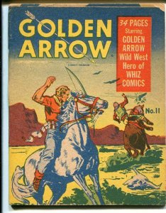 Mighty Midget #11 1942-Golden Arrow-1st starring book?----VG
