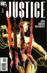Justice (DC) #5 VG; DC | low grade comic - save on shipping - details inside