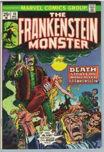 Frankenstein 10 May 1974 VF (8.0)