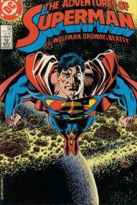 Adventures of Superman (1987 series) #435, NM (Stock photo)
