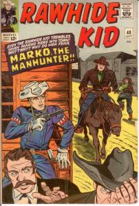RAWHIDE KID (1960-1979) 48 VG Oct. 1965 COMICS BOOK
