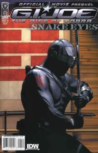 G.I. Joe Movie Prequel—Snake Eyes #4A VF/NM; IDW | save on shipping - details in