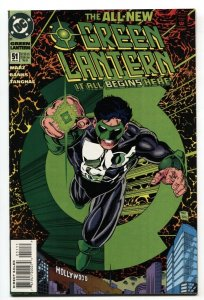 Green Lantern #51 1st appearance of Kyle Rayner's new costume.