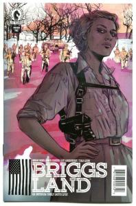 BRIGGS LAND ashcan, VF/NM, SDCC, 2106, US family / Seige, more promos in store