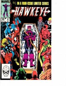 Hawkeye (1983) #4 VF/NM (9.0)