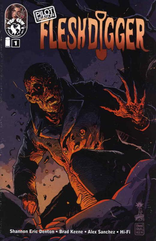 Pilot Season: Fleshdigger #1 VF/NM; Image | save on shipping - details inside