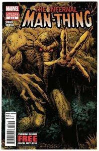The Infernal Man-Thing #2 (Marvel, 2012) VF-