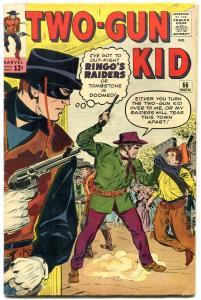 Two-Gun Kid #66 1963- Ringo's Raiders- Dick Ayers Marvel Western FN-