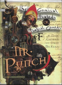 The Comical Tragedy or Tragical Comedy of Mr. Punch GN (3rd print) Gaiman/McKean