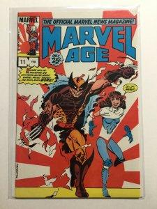 Marvel Age 11 Very Fine Vf 8.0 Marvel
