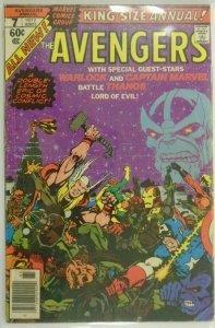 The Avengers Thanos ANN #7 - 3.0 GD/VG - 1977