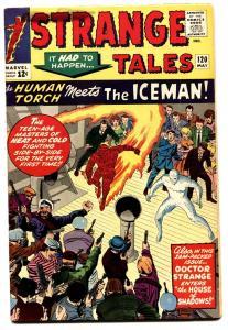 Strange Tales #120 comic book 1964-marvel-human Torch-kirby-ditko