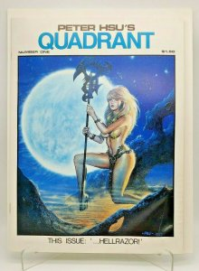 QUADRANT Comic Book1983 #1 PETER HSU'S MALIBU COMICS