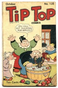 Tip Top Comics #135 1947- Lobster cover- Li'l Abner VG
