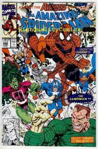 Amazing SPIDER-MAN #348, NM, Larsen, Sandman,1963, more ASM in store