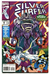 Silver Surfer #82 1993-1st cover appearance of Tyrant-Marvel
