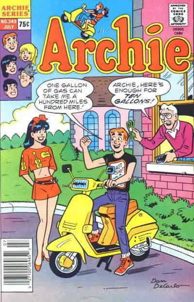 Archie #349 VF/NM; Archie | save on shipping - details inside