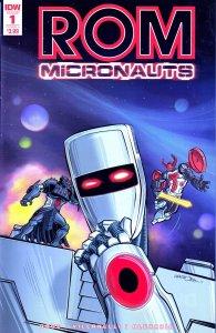 ROM/MICRONAUTS # 1,2,3,4,5  Rom Spaceknight vs Baron Karza !