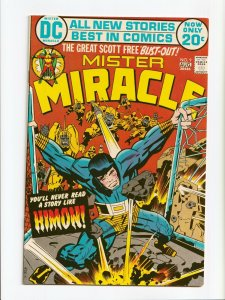 Mister Miracle #9 Jack Kirby Cover and Art DC Comics 1972 NM-