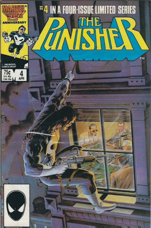 the punisher mini series #2,3,4,5 van/nm collection $25.00