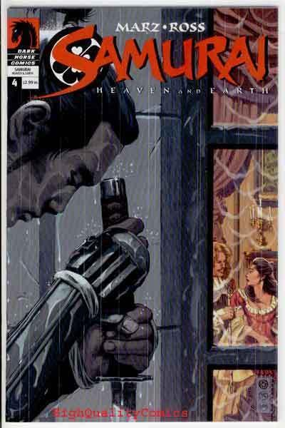 SAMURAI #4, VF, Heaven & Earth, 2005, Sword, more indies in store