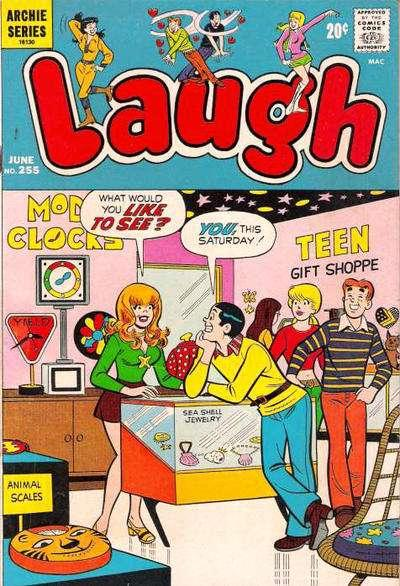 Laugh Comics #225, Fine (Stock photo)