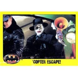 1989 Batman The Movie Series 2 Topps 'COPTER ESCAPE! #162