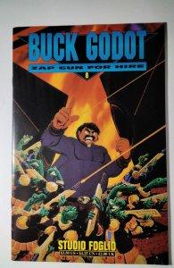 Buck Godot - Zap Gun For Hire #8 (1998) Palliard  Comic Book J756