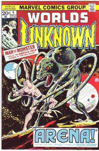 Worlds Unknown #4 (Nov-73) VF/NM+ High-Grade