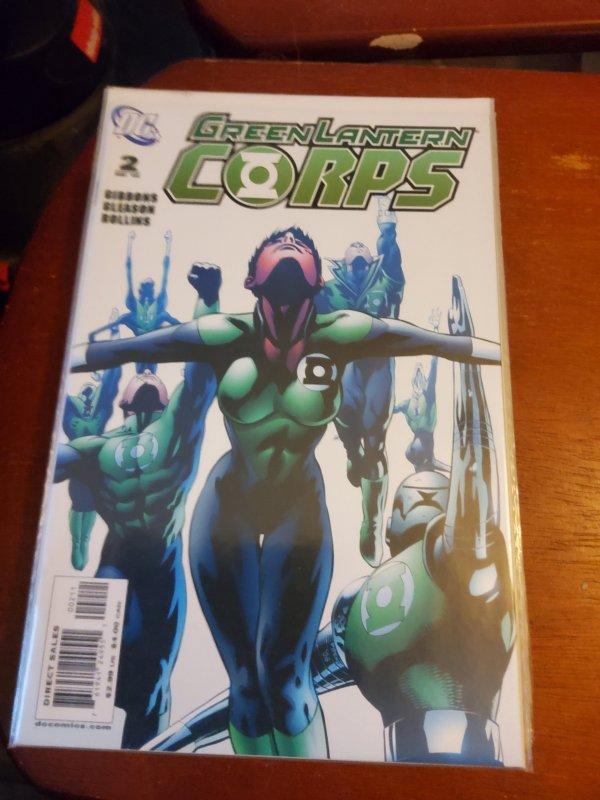 Green Lantern Corps #2 (2006)