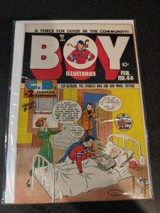 BOY ILLUSTORIES No. 44 1948 Golden Age Comic Book
