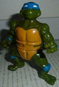 Head Droppin' Leo Teenage Mutant Ninja Turtles Action Figure 1991 Mirage