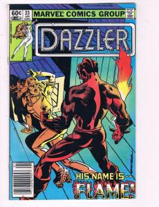 Dazzler #23 VF Marvel Comics Group Comic Book Flame 1981 DE8