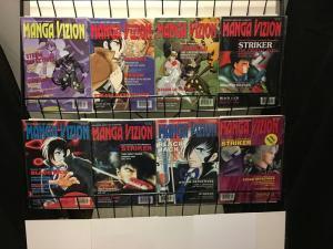 MANGA VIZION VOL.4 (1998 VIZ) 1-8 series finale! Rumiko