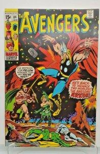 AVENGERS 1971 (MARVEL) #84 Thor, Arkon VF/NM