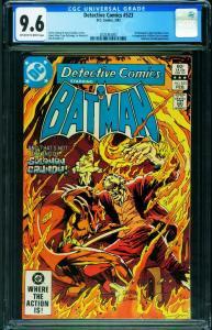 DETECTIVE COMICS #523 CGC 9.6 Solomon Grundy - DC - 2026363003