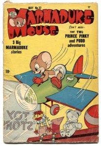 Marmaduke Mouse #37 1953- Golden Age Funny Animals G