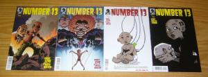 Number 13 #0 1-3 VF/NM complete series post-apocalyptic sci-fi dark horse comics