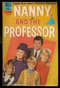 NANNY & THE PROFESSOR #1 1970-DELL COMIC-TV PHOTO COVER FN/VF
