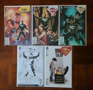 SUPERMAN LOIS & CLARK 1, 2, 3, 4, 8 - DC NEW 52 REBIRTH