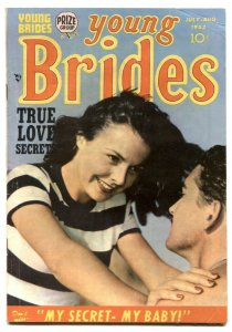 Young Brides #6 1953- MY SECRET MY BABY- Simon & Kirby FN-