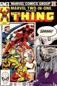 Marvel Two-In-One (1974 series) #96, VF- (Stock photo)