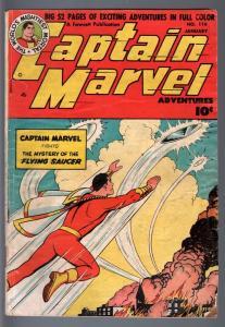 CAPTAIN MARVEL ADVENTURES #116 1951, SIVANA, FAWCETT GOLDEN AGE, G/VG