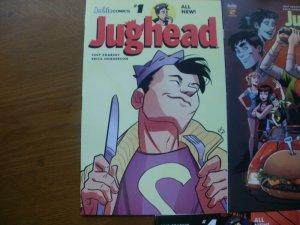 5 Archie Comics JUGHEAD Comic #1 2 3 4 5 Riverdale High School Jones (All-New)