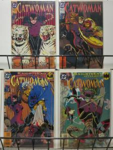 CATWOMAN (1993) 10-13  KNIGHTSEND TIE-IN! COMICS BOOK