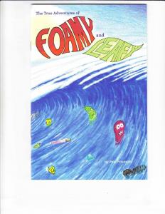 True Adventures of Foamy and Leafy #1 VF/NM pro-recycling comic - eco friendly