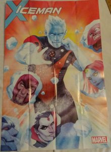 ICEMAN Promo Poster, 24 x 36, 2017, MARVEL, Unused more in our store 155