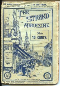 Strand Magazine 6/1900-An Odd Freak by WW Jacobs-120+ years old-F. Amstey-VG