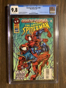 Amazing Spider-man 404 Cgc 9.8 White Pages Marvel